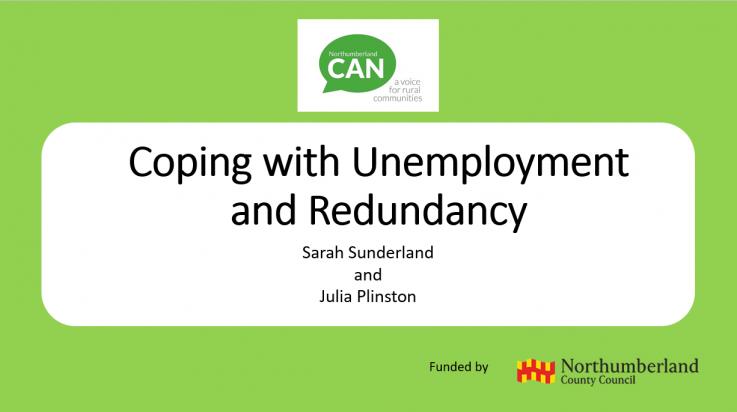 Free employability webinars for unemployed Northumberland residents