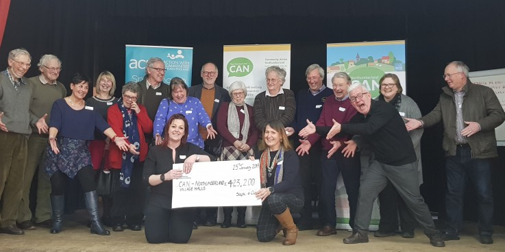 Huge funding boost for village halls led by CAN
