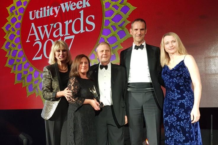 Warm Hubs work wins gas company an award