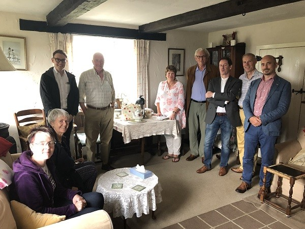 Ofgem board spend the day with Warm Hubs